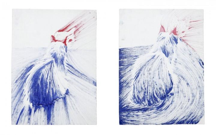 Cat paintings, documentation 17